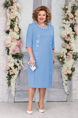 Платье Ninele 2246 голубой