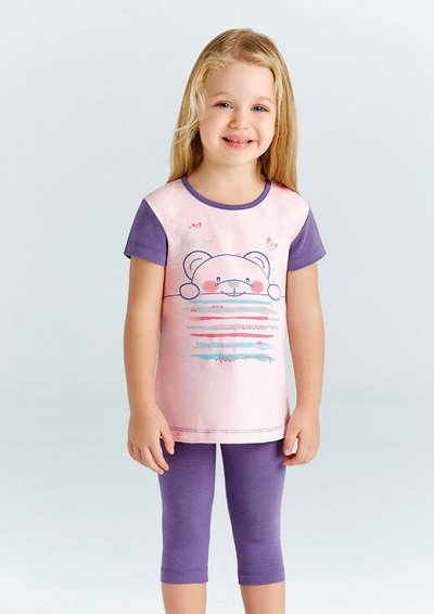 Детское белье BAYKAR новое поступление, быстрая доставка. — Пижамы для девочек — Комплекты белья