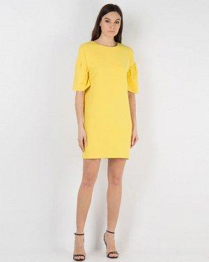 Платье ярко-желтое, 46-48рр