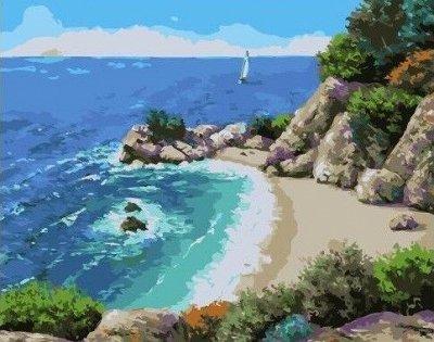 Хобби и творчество. Мегавыбор! Низкие цены! — Море, корабли - Картины по номерам Paintboy (40*50 см) — Рисование