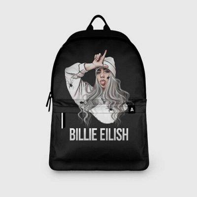 Brawl Stars. Одежда и аксы. Новинки! — Новинка! Рюкзаки 3D Billie Eilish — Школьные рюкзаки