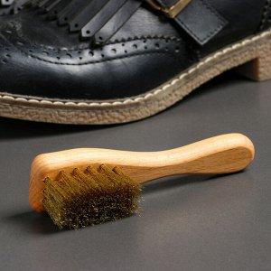 Щётка для обуви из нубука, 12?3 см, 22 пучка