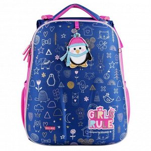 1008-186 рюкзак (Пингвин) синий MIKE&MAR