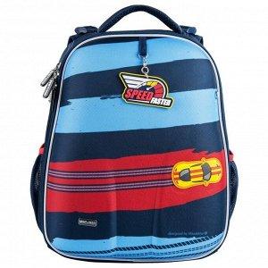 1008-199 рюкзак (Спорткар) синий/кр MIKE&MAR