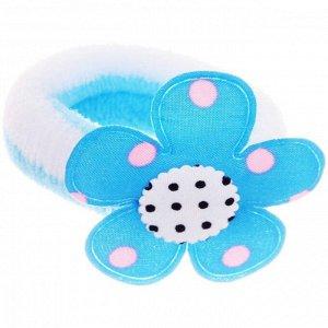 """Резинки для волос детские 12шт """"Веселая Ромашка"""", 6 цветов, 7*2,5см"""