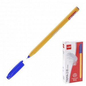Ручка шариковая Cello Trima-21B узел 0,7мм, чернила синие 6326
