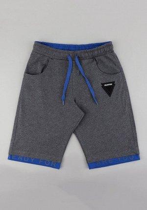 Шорты МАЛ Серый-синий Материал: 100% хлопок  Пол: МАЛ  Описание товара: Шорты для мальчика на резинке с карманами