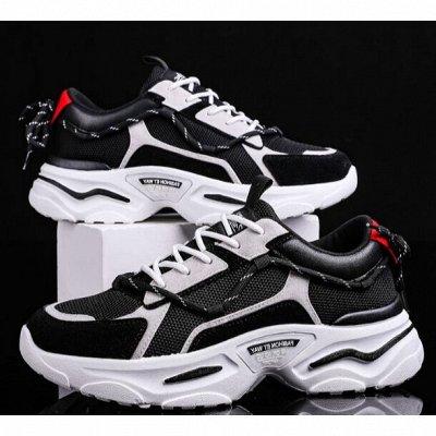 Большая обувная! Тысяча классных моделей!  — Кроссовки мужские.1.0. — На шнуровке