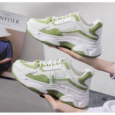 Большая обувная! Тысяча супер-классных моделей!  — Женские кроссовки.1.0. — На шнуровке