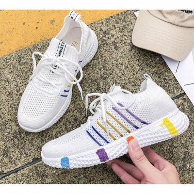 Большая обувная! Тысяча супер-классных моделей!  — Женские кроссовки.2.2. — На шнуровке