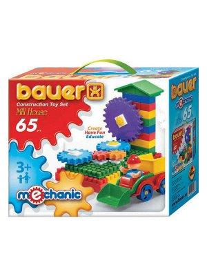 Конструктор Bauer серии Mechanic 65parts Mill house (Мельница малая)