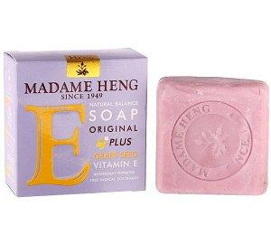 Мыло MADAME HENG витамин Е + виноградные косточки