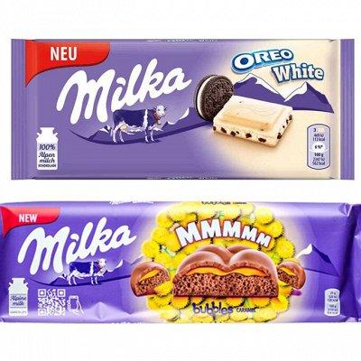 Самая вкусная закупка!** Чай, Кофе и Сладости!  — Шоколад Милка — Шоколад