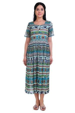 Платье Kaley Цвет: Зеленый, Мультиколор. Производитель: Ганг