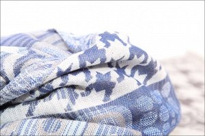 Накидка-палантин Benett Цвет: Серо-Голубой (70х200 см). Производитель: Ганг