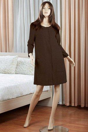 Платье Susanna Цвет: Темно-Коричневый. Производитель: Primavelle