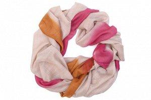 Накидка-палантин Devil Цвет: Оранжевый, Розовый, Бежевый (70х190 см). Производитель: Ганг