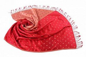 Накидка-палантин Melbourne Цвет: Красный, Бежевый (60х180 см). Производитель: Ганг