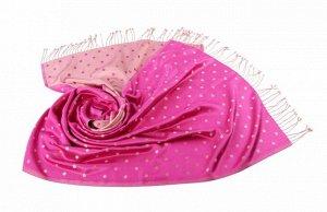 Накидка-палантин Annie Цвет: Бежевый, Розовый (60х180 см). Производитель: Ганг