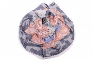 Накидка-палантин Lorrin Цвет: Серый, Голубой, Оранжевый (70х180 см). Производитель: Ганг