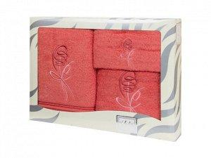 Полотенце Valentini Цвет: Алый (30х50 см, 50х100 см, 100х150 см). Производитель: Valentini