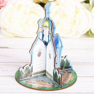 Настольный сувенир «Новосибирск. Часовня Святого Николая»