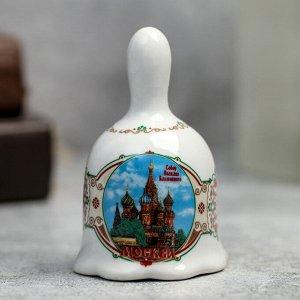 Колокольчик «Москва. Достопримечательности»