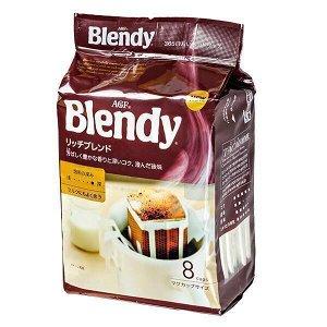 Кофе молотый AGF Бленди  Рич  7 гр*8 1*12