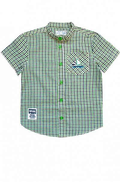 Яркий Трикотаж для всей семьи 57!  — Мальчикам. Повседневная одежда. Рубашки — Рубашки