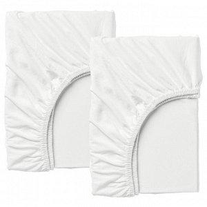 Продам IKEA Натяжную простыню 80х130 белый