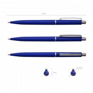Ручка шариковая автоматическая Smart, узел 0.7 мм, чернила синие, длина линии письма 1000 метров, блистер