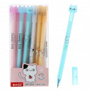 Ручка гелевая ПИШИ-СТИРАЙ стержень синий 0,38мм, корпус МИКС Котик   4774870