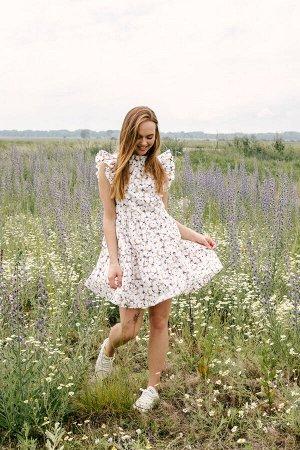 Платье Платье Pur Pur 01-817/2  Состав: Хлопок-100%; Сезон: Лето Рост: 170  Летнее платье из хлопка.