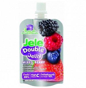 Желе JELE DOUBLE JELEY Mixed berry (ягодный микс), 125 гр