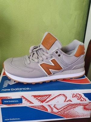 Кроссовки NB 574 Gray