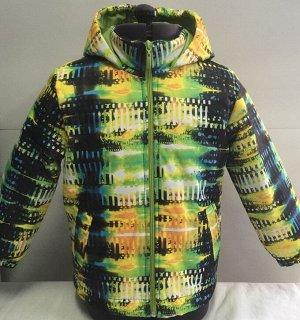 Куртка Ткань верха: мембрана Подкладка: полочка, спинка, подворотник-флис(п/артек), рукава-подкл.ткань Утеплитель: синтепон 120 г/м2 Состав костюма: 100% п/э Рост: 92 Цвет: желтый,зелёный,синий,синий+