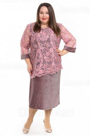 Платье 0953-3 из плотного трикотажного чехла