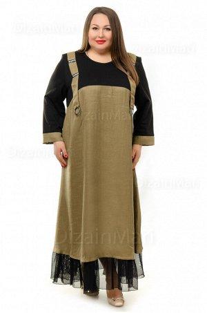Модное и современное платье-наряд 8601