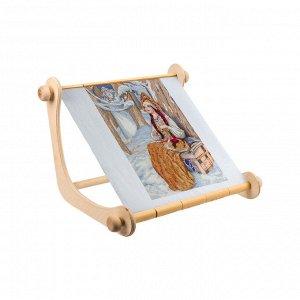 Пяльцы-рамка с клипсами и магнитом для игл 40*35*35см