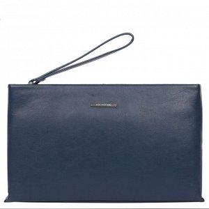 Клатч кожаный мужской LEO VENTONI 03002482-Blue
