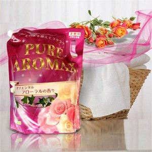 Кондиционер для белья PURE AROMAX 2100мл c ароматом Восточных цвето