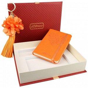 Подарочный набор записная книжка и брелок Venuse 77006 №83