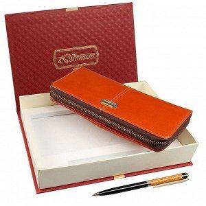 Подарочный набор кошелек и ручка Venuse 76001 №71
