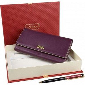 Подарочный набор кошелек и ручка Venuse 76003 №72