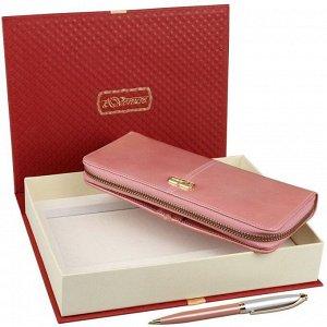 Подарочный набор кошелек и ручка Venuse 76015 №76