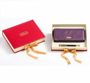 Подарочный набор кошелек и ручка Venuse 78022 №109