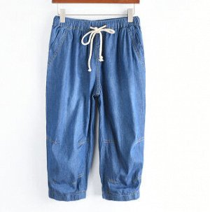 Бриджи женские джинсовые