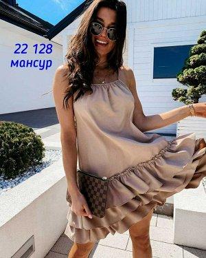 Платье женское. Ткань плотный лайт в размер.