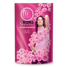 "LION ""Hi-Class"" Кондиционер д/белья ""Hana Pinke"" 500мл розовый (мягкая упак)/ Таиланд"