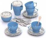 Набор посуды Чайный сервиз Волшебная Хозяюшка (12 предметов в сетке) 57*42*30 см85